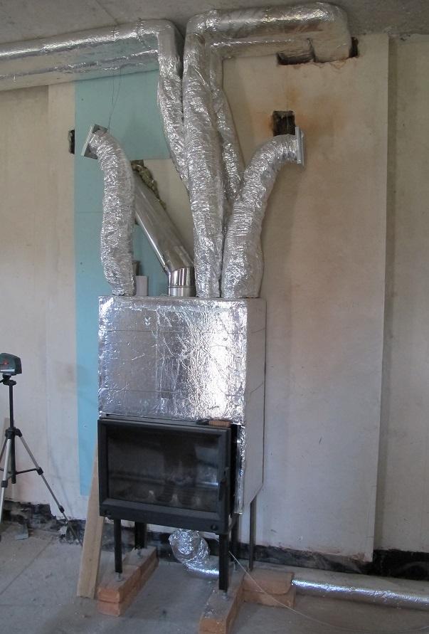 Печь для воздушного отопления дома своими руками 96